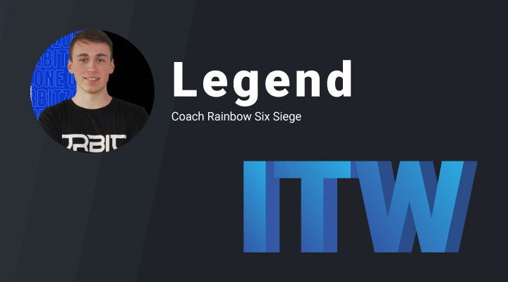 Interview - Découvrez Legend, coach Rainbow Six Siege Snowball